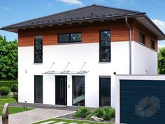 Stadtvilla S 1 von EBH Haus Wohnfläche gesamt119,16 m² Zimmeranzahl6,5   | Stadtvilla | Walmdach