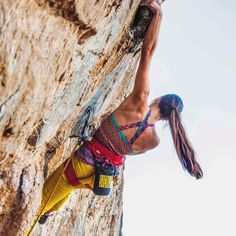 Climbing is such an impossible life to explain. If you have this calling to climb, that's your ticket, and you gotta go with it. Climbing Girl, Sport Climbing, Ice Climbing, Climbing Holds, Mountain Climbing, Wild Sports, Hiking Training, Hiking Places, Escalade
