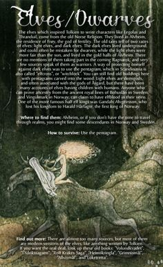 "wintherharlekin: "" Scandinavian folklore (special focus on Norway) Pictures: Nøkken, Valemon, and Draugen by Theodor Kittelsen Dragon, Huldra, Trolls, Elves, (first picture), by John Bauer Fossegrimen by..."