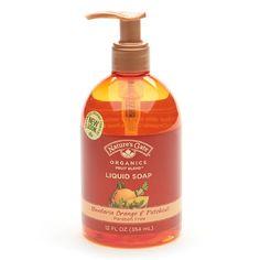 Nature's Gate Fruit Blends Liquid Hand Soap, Mandarin Orange + Patchouli - 12 fl oz