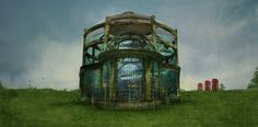 Whose Fanciful Whims Inspired the Construction of This Unusual Aquarium? Whale, Concept Art, Aquarium, Swimming, Construction, Fancy, Building, Places, Illustration