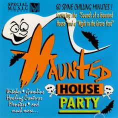 Halloween Sounds, Halloween Party, Scary Sounds, Haunted House Party, Album Covers, Chill, Creatures, Music, Movie Posters