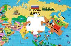 Foam World Map Kit - Interlocking Puzzle Mat