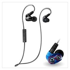 Bluetooth 4.1 Cordless Headphones Sweat proof Sport Microphone Headset for Moxpad X90 Bluetooth Selfie Remote