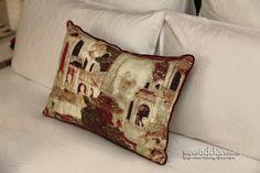 Thai art pillows at Hotel Indigo Bangkok Wireless Road