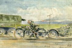 Exposition Carnet de Guerre de Rob Roy 1939 à 1944