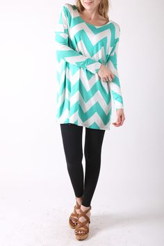 Layla Chevron Tunic $30 obsessed!!!