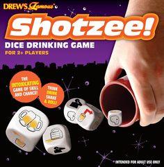 shotzee drinking game. yes!