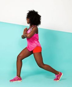 Best Butt Exercises - Squats, Lunges, Simple Moves | Want your best butt ever? Our personal trainer shows us five killer moves to get your butt in shape. #refinery29 http://www.refinery29.com/62821