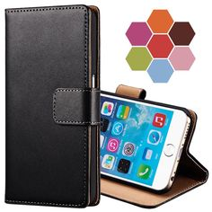 Classic Leather Wallet With Stand Case For iPhone 6 S 6S 4.7 Inch Phone Bag Cover For iPhone 6 Plus 6S Plus 5.5 Coque Card Slot-in Phone Bags & Cases from Phones & Telecommunications on Aliexpress.com | Alibaba Group