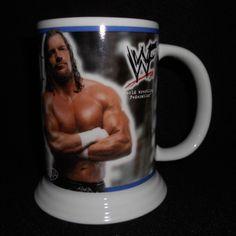 Triple H (HHH) Wrestling Mug Stein 2001 WWF WWE Danbury Mint Collector w/ Box #DanburyMint #WWE #Triple H