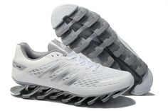finest selection 6ab6d 64bd7 Discount Adidas 2014 Springblade II White Silver Men s Running shoes For  Sale