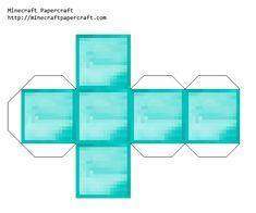 Papercraft Diamond Block
