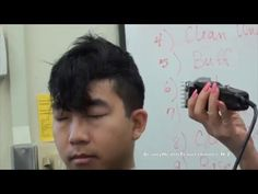 Haircut: Men's Clipper, Scissors, Thinning Shears - YouTube