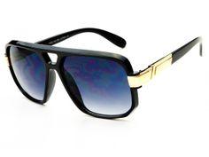 Classy Celebrity Aviator Sunglasses Black A981