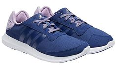 adidas Performance Womens Element Refresh W running Shoe Navy Purple 8 ** Click on the image for additional details.
