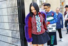 Street Style: Paris Fashion Week Spring 2015 – Vogue (=)