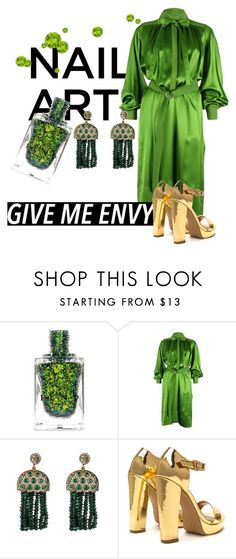 """""""lady tremaine"""" by madebyunicorn ❤ liked on Polyvore featuring beauty, CÉLINE and Latelita"""