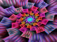 Spiral arc en ciel by Digithalie on deviantART