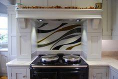 Bespoke Glass Splash back, Kendal, Cumbria. Glass Installation, Interior Accessories, Glass, Interior, Kitchen, Glass Kitchen, Kitchen Appliances, Double Wall Oven