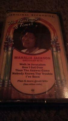 Mahalia Jackson Greatest Hits Cassette Brand New Sealed gospel
