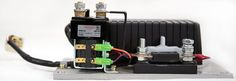 Programmable CURTIS DC SepEx Motor Speed Controller Assemblage 1243-4320 - 24V / 36V - 300A, pallet truck and light weight forklift traction motor control unit