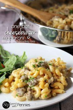 Homemade One Pot Cheeseburger Macaroni (Stove Top)