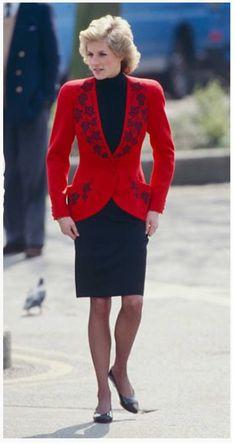 Princess Diana | Hyde Park , le 18 Avril 1989
