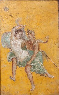 Летящие Менада и Сатир. Помпеи, дом Навильо, 45-79 гг. (Viacheslav Lopatin / IP)