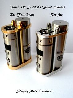 Vamo V5 S Mod - www.simply-mods-creations.be