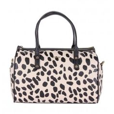 59717603a2 DKNY 433310902 Womens Satchel Handbag AW13 Black Animal available at  www.hypedirect.com  animal  amimalprint  womens  fashion   style  bag   leopard ...
