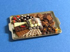 miniature chocolate treats