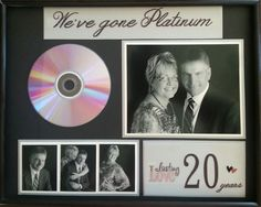 20th anniversary we ve gone platinum gift album painted with