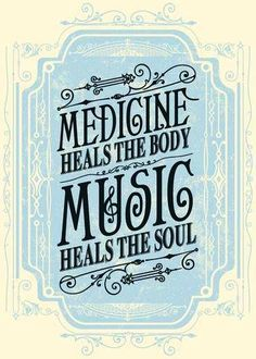 Medicine heals the body, music heals the soul. Design by Justin Helton of Status Serigraph The Words, Music Is Life, My Music, Hippie Music, Dance Music, Music Stuff, Rock Music, Good Music Quotes, Song Quotes