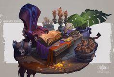 ArtStation - The craftsman's shop of magic props, ROOM 8 STUDIO
