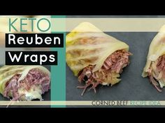 How to make KETO Reuben Wraps Great for Low Carb too!