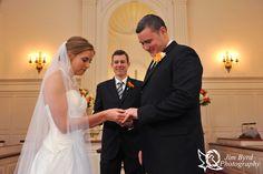 Ceremony photo inside Robert Carr Chapel on the TCU Campus in Fort Worth, TX Jim Byrd Photography #wedding #RobertCarrChapel