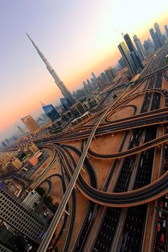 The roads of Dubai would be the best game of Scalextric ever!