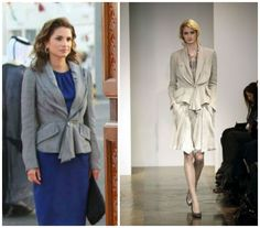 Queen Rania of Jordan: Nina Ricci jacket