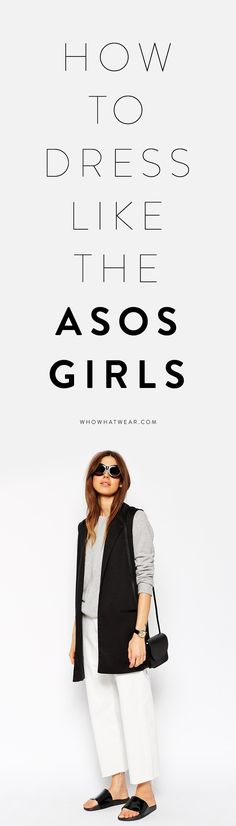 Outfit styling tricks from ASOS