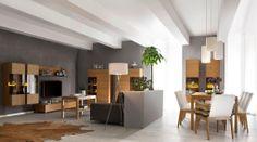 Elizabeth Interiors Salon z kol. P-100/Fameg Living room - col. P-100 from Fameg