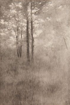 Landscape Drawings, Landscape Art, Landscape Paintings, Landscape Sketch, Davidson Galleries, Nature Drawing, Ink Pen Drawings, Modern Artists, Seascape Paintings