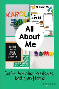 The Best All About Me Activities For Preschoolers