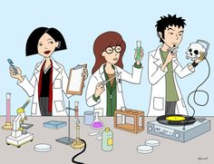Daria in the Lab by RobotGorilla on DeviantArt