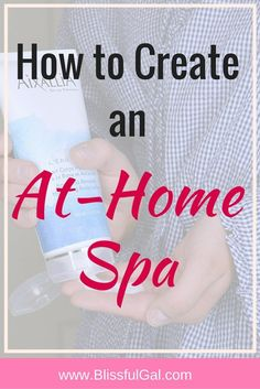 Create an At-Home Spa- Going to the spa is such a luxury that may not be in many of our budgets, but that doesn't have to stop you from creating one at home! You probably already have everything you need to make a spa night at home already, you just need to think a little bit! This post is centered around how I create my own at-home spa and what I do to relax! #Aixallia #IC ad