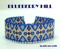 Julie Ann Smith Designs BLUEBERRY HILL Bracelet Pattern, Sova Enterprises