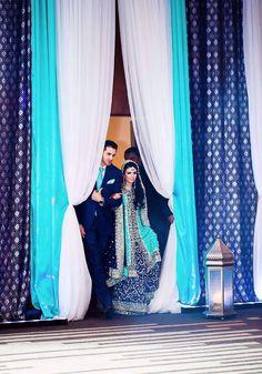 Ideas wedding couple pakistani bride groom for 2019 Walima Dress, Pakistani Wedding Dresses, Pakistani Bridal, Bridal Dresses, Pakistani Outfits, Bridal Lehenga, Bridal Elegance, Desi Wedding, Mariage