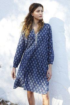 Indigo Dress | PLUMO.COM