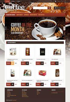 Coffee Store PrestaShop Theme #food #responsive #website http://www.templatemonster.com/prestashop-themes/45301.html?utm_source=pinterest&utm_medium=timeline&utm_campaign=coff