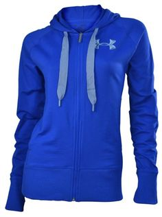 c1b03b00cf Amazon.com  Under Armour Women s Light Charged Cotton Storm Full Zip Hoody  (BLUE GRAY